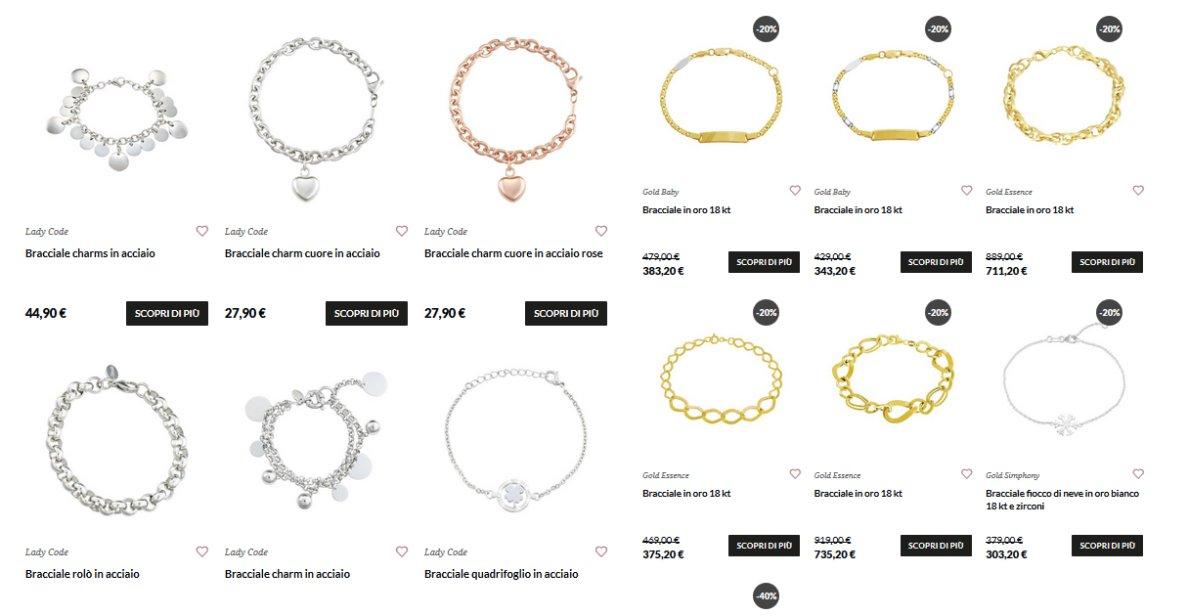 rivenditore online scegli autentico buona reputazione Stroili Oro shop online - Gioielli Shop Online